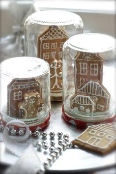 """""""Boules de neige"""" con biscotti"""
