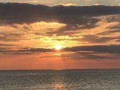 Sunset this evening at Panama City Beach... Photo from @hunterpalmerPCB