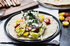 tortilla s masem a chia semínky
