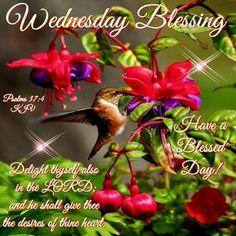 Wednesday Blessing, Psalms 37:4