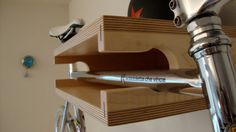 Bike Shelf Box - Maple and Appleply by IndependentWoodworks on Etsy, $250.00