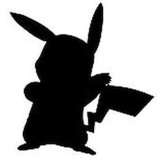 Stickerbus.com - Pikachu Silhouette Pokemon Anime Decal Sticker, $8.00 (http://www.stickerbus.com/personalized-decals/anime/pikachu-silhouette-pokemon-anime-decal-sticker/)