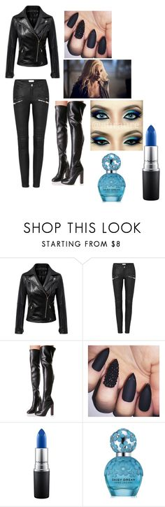 """""""Killer Frost Outfit"""" by queenprincessliarra ❤ liked on Polyvore featuring Lust For Life, MAC Cosmetics and Marc Jacobs"""