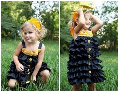 HAVE to make this dress for my girls!!! I adore it! :)