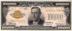 $500 to $1,000 to $10,000 and Beyond: The Biggest Dollar Bills in United States History | PurpleSlinky