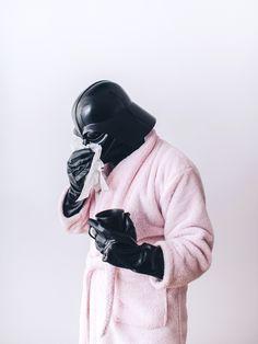 darth vader pink robe -