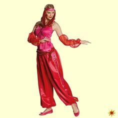 Orient Kostüm Jeannie, 1001 Nacht 001