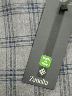 NWT$650 ZANELLA Italy beautiful luxury WS/Wool Fleece Dress Pants 34W/50 regular #zanella #DressFlatFront