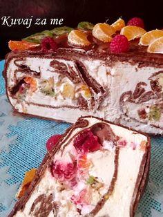 Fashion and Lifestyle Bakery Recipes, Fruit Recipes, Desert Recipes, Cheesecake Recipes, Sweet Recipes, Cooking Recipes, Croation Recipes, Kolaci I Torte, Torte Recepti
