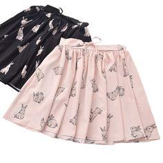 Rabbit Skirt (2 COLORS)