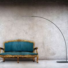 "I just thought this was cool (and I love Shigeru Ban). A brand new design from Ban and Fontana Arte, his Yumi floor lamp is super thin (10mm thick) and made of LED's sunk into a carbon fiber wand that extends up from a metal base on the floor. ""Floor lamp. Black structure in composite material coated with carbon fibre. Black lacquered metal base. Power cables sunk into the structure. Direct light emission. Electronic power unit included."""