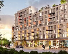 Kingston&Co Condominiums designed by Teeple Architects for TAS and Main & Main