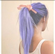 If i were to put any bright color in my hair this  exactly how i would want it!