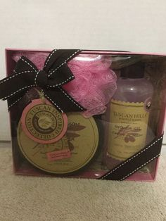 Tuscan Hills Body Care Collection 3 Piece Gift Set Shower Gel Body Butter #TuscanHillls