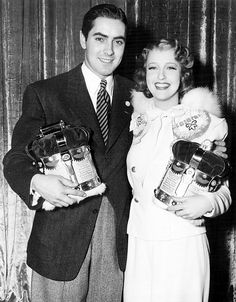 Old Hollywood : Photo, Tyrone Power and Jeanette MacDonald
