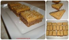 Karamelové rezy - zuzkinemaskrty.sk Krispie Treats, Rice Krispies, Sweet Recipes, Banana Bread, Sweets, Food, Sweet Pastries, Meal, Goodies