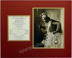 Melchior, Lauritz - Signed Photo as Siegfried