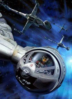 #BladeSquadron #StarWars #BWing