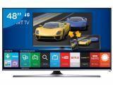 "Smart TV LED 48"" Samsung UN48J5500AGXZD Full HD - Conversor Integrado 3 HDMI 2 USB Wi-Fi"