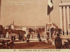 Unused French Vintage Postcard  Paris International by ChicEtChoc