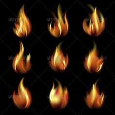 Collection of Friezes from the Fire   #GraphicRiver         Collection of friezes from the fire on a black background.This file contains transparency. EPS10. Mesh.Vector illustration used gradient mesh – vector available RGB colors. EPS file is editable in Adobe Illustrator Included files: .ai (CS5), .eps (10 version), high-resolution .jpg (5000?5000 pixels)     Created: 13March13 GraphicsFilesIncluded: JPGImage #VectorEPS #AIIllustrator Layered: No MinimumAdobeCSVersion: CS Tags: background…