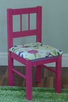 Ikea kids chair.