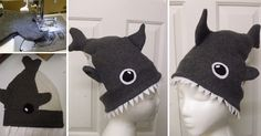 How to Make Shark Attack Hat - Sew, Uncategorized - Handimania