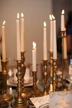 The Endless Possibilities of Brass Candlesticks | The Good Life Blog#more-7221#more-7221