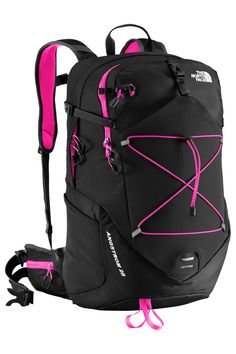 The North Face Women's Angstrom 28 Pack. This minimal, women-specific 28-liter pack is a game changer when you're looking to stay light and nimble on the trail. Multiple pockets facilitate disciplined packing for day hikes or quick overnighters in the backcountry. Shorter straps and torso length are designed to fit the smaller proportions of a woman's frame. To refuel during high-energy activities hook up a hydration reservoir, or slip water bottles into the stretch side pockets. The…
