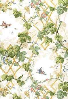 5004490 Leafy Arbor Cream Schumacher Wallpaper you can purchase this pattern online for less plus samples available. Thanks for shopping Mahones Wallpaper Shop for pattern Remember Mahones Wallpaper Shop only sells hand materials straight from Schumacher