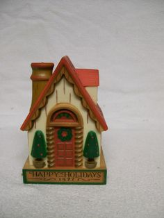 Vintage Hallmark ORNAMENT 1977  Happy by FabVintageEstates on Etsy, $10.00