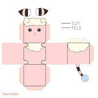 Flaaffy Papercraft by CharrChan