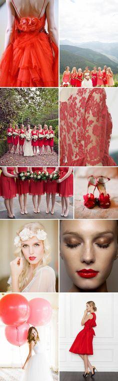 A Raspberry Romance.   Rock My Wedding