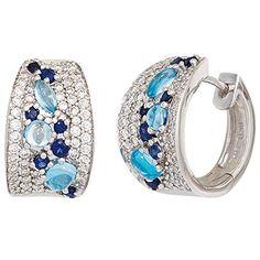 Dreambase Damen-Ohrschmuck Creole 14 Saphire blau 14 Kara... https://www.amazon.de/dp/B00N5CDW28/?m=A37R2BYHN7XPNV