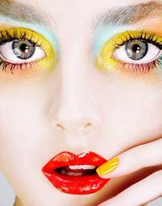 makeup, fashion, beauty, portrait.