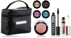 Meet the #Amazon exclusive: Front Cover Amazon Collection (Limited Edition) with 7 of your LORAC faves plus a beautiful black makeup bag for $35!