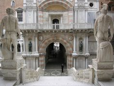 Doges' Palace - Venice, Italy - The View of the Doge