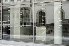 Dark Side of Typography Storefront Signage, Window Signage, Retail Signage, Wayfinding Signage, Signage Design, Typography Design, Environmental Graphics, Environmental Design, Display Design