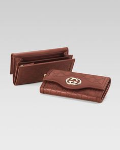 Sukey Continental Wallet by Gucci at Neiman Marcus.