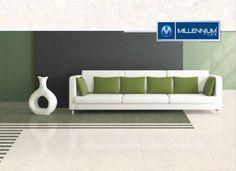Linear Pista & Linear Green - Millennium Tiles 600x600mm...  Linear Pista & Linear Green - Millennium Tiles 600x600mm (24x24) Double Charge Porcelain Tiles Series. http://ift.tt/2cmqkn8