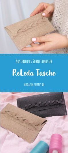 Kostenloses Schnittmuster: ReLeda Tasche