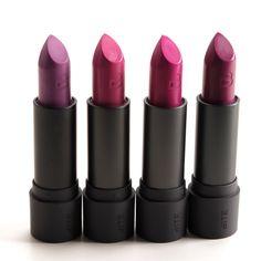 Bite Beauty Spritzer, Gin Fizz, Dragonfruit, Eggplant Lipsticks Reviews & Swatches