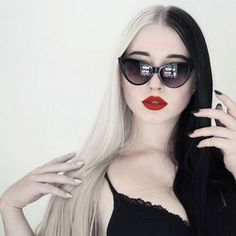 Would You Dye Your Hair Like Cruella De Vil? Half And Half Hair Is Happening