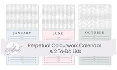 Printable Knitting Calendar – Laylock Knitwear Design