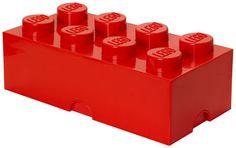 Boîte Lego® Brick / 8 plots Rouge - ROOM COPENHAGEN - Décoration et mobilier…