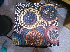 My mosaic table
