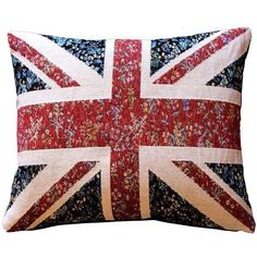 Pillow Decor - United Kingdom Flag 15x19 Pillow ($79) ❤ liked on Polyvore