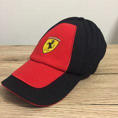 Official Ferrari Scuderia Puma Mens Team CAP HAT Black RED Formula 1  4745beddf0b