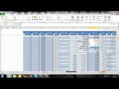 شرح برنامج حسابات اكسيل  او شرح برنامج اكسيل Microsoft Excel 2016 من الب...