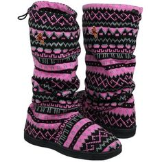 :) http://pac-12.teamfanshop.com/COLLEGE_Arizona_State_Sun_Devils_Ladies_Shoes_And_Socks/Arizona_State_Sun_Devils_Ladies_Jacquard_Knit_Boots_-_Pink_Black